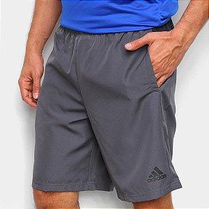 Short Adidas Colorblock Woven Masculino Cinza