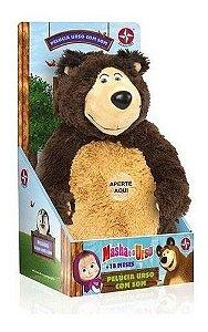 Brinquedo Pelúcia Urso Da Masha Com Som- Estrela