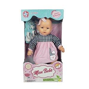 Boneca Estrela Meu Bebê Vestido Sortido 59Cm