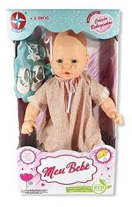 Boneca Meu Bebê Vestido Sortido Estrela 59 Cm