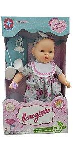Boneca Nenezinho Vestido Diverso 44 Cm Estrela