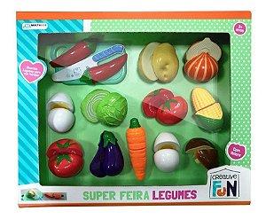 Creative Fun Multikids Super Feira 12 Legumes - Br1110