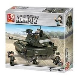 Blocos De Montar Land Forces Tanque 312 Pcs- Multikids Br908