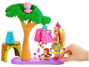 Boneca Barbie Chelsea Festa Na Selva Mattel GTM84
