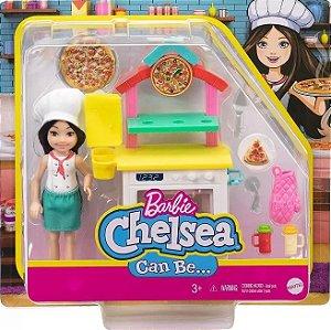Boneca Barbie Chelsea Profissões SORTIDA Mattel