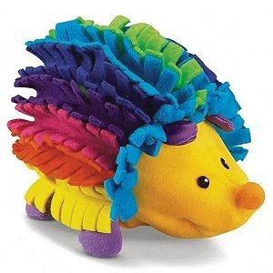 Fisher-Price Pelúcia Porco Espinho Colorido Chocalho Mattel