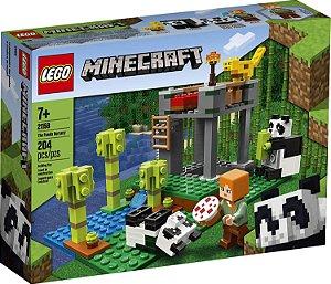 Lego Minecraft A Creche dos Pandas 204 peças 21158