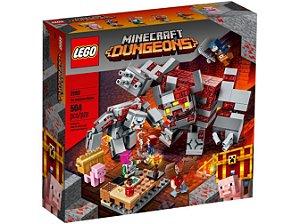 Lego Minecraft O Combate de Redstone 504 Peças 21163