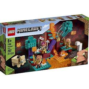 Lego Minecraft A Floresta Deformada 287 Peças 21168
