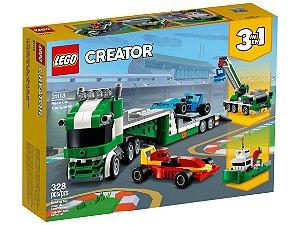 Lego Creator Transportador Carros de Corrida 328 Peças 31113