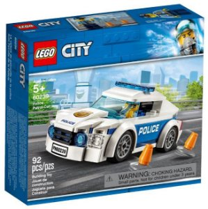 Lego City Carro Patrulha da Polícia 92 Peças 60239