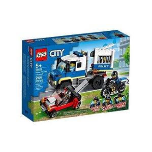 Lego City Transporte de Prisioneiros Polícia 244 Peças 60276