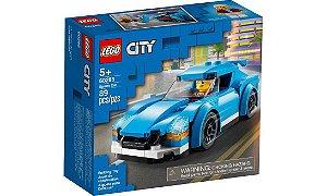 Lego City Carro Azul Esportivo 89 Peças 60285