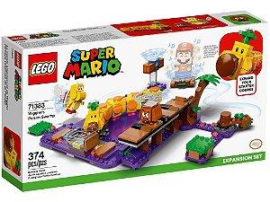Lego Super Mario O Pântano Venenoso de Wiggler 374 Peças