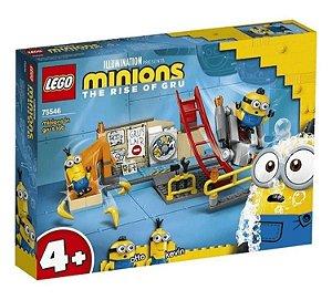 Lego Minions no Laboratório do Gru 87 Peças 75546