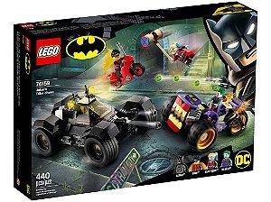 Lego Super Heros Perseguição Triciclo do Joker 440 Peças