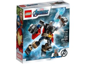 Lego Marvel Avengers Armadura Robô Thor 139 Peças 76169