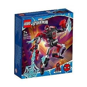Lego Homem Aranha Miles Morales Armadura Robo 125Peças 76171