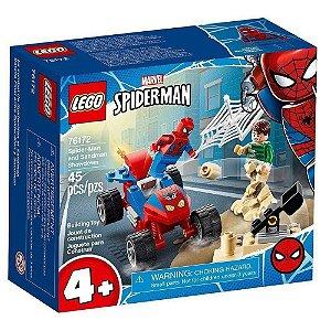 Lego Heroes Confronto Homem-Aranha e Sandman 45 Peças 76172