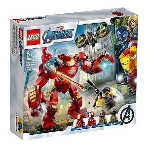 Lego Marvel Os Vingadores Hulkbuster vs Agentes 456 Peças