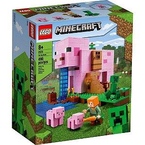 Lego Minecraft A Casa do Porco 490 Peças 21170