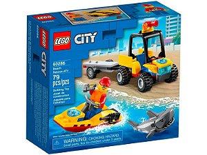 Lego City Off-Road de Resgate na Praia 79 Peças 60286