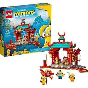 Lego Minions Combate De Kung-Fu Dos Minions 310 Peças 75550