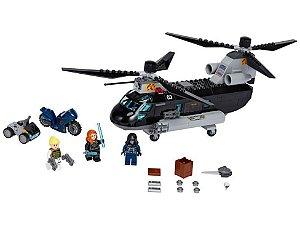 Lego Super Heroes Perseguição de Helicóptero da Viúva Negra