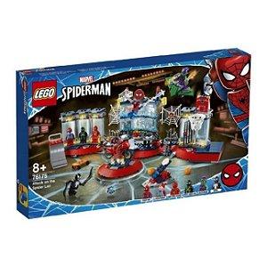 Lego Marvel Ataque Ao Abrigo Do Spider-Man 466 Peças 76175
