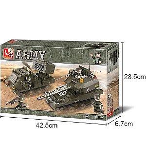 Blocos De Montar Esquadrão Antibomba 403pcs Multikids BR909