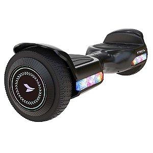 Hoverboard Fun Led Chumbo Atrio 6,5 Pol 260W 2,0Ah 10KmH 6Km
