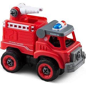 Caminhão de Bombeiros Esguicho Controle Remoto City Machine