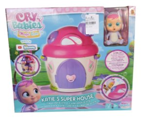 Cry Babies Magic Tears Super Casa da Katie Multikids
