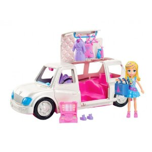 Boneca Polly Pocket Limousine Fashion Mattel GDM19
