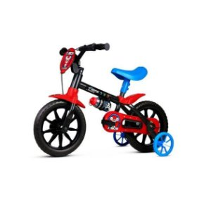 Bicicleta C/ Rodinha Garrafa Infantil Aro 12 Mechanic Nathor