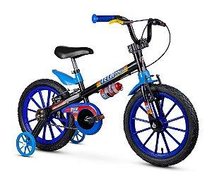 Bicicleta Infantil C/ Rodinha Garrafa Aro 16 TechBoys Nathor