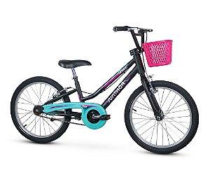 Bicicleta Infantil Com Cestinha Aro 20 Grace Nathor