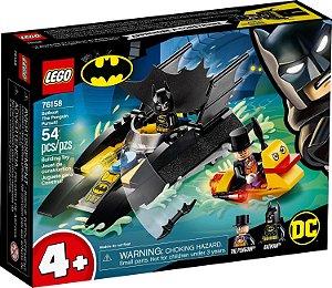 Blocos de Montar Lego Batman Perseguição do Pinguim Batbarco