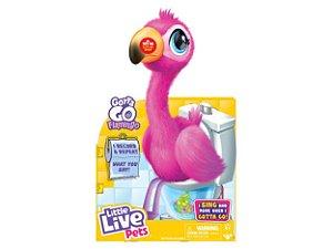 Flamingo Adotados Little Live Come Fala e Dança F00075 Fun