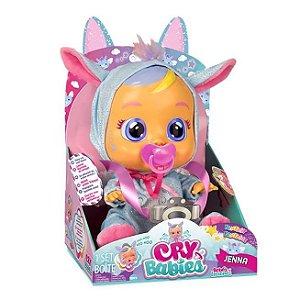 Cry Babies Fantasy Jenna Chora de Verdade Multikids BR1401