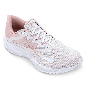 Tênis Nike Quest 3 Feminino Branco + Salmão