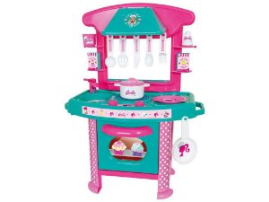 Cozinha Infantil Barbie Chef Cotiplás 2228