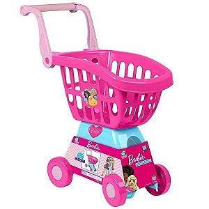Carrinho de Compras Infantil Barbie CHEFF Cotiplas 2493