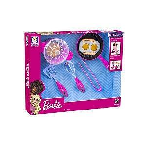 Kit de Cozinha Infantil Didático Barbie Chef Cotiplas 2494