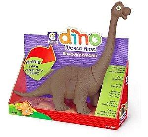 Dinossauro Amigo Braquiossauro c/Som em Vinil Mundo Kids