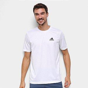 Camiseta Masculina Adidas D2M Plain P ao GG