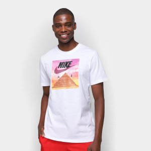 Camiseta Nike NSW Festival Masculina Branca