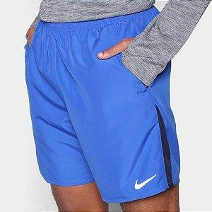Bermuda Esportiva Nike Run 7 BF Masculina Azul Poliéster