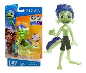 Boneco Luca Paguro Disney Pixar Articulado 14cm Mattel