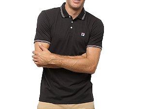 Camiseta Polo Masculina Fila Premium Pima